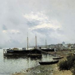 After the Rain. Volga 1889