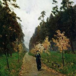 Autumn Day. Sokolniki 1879