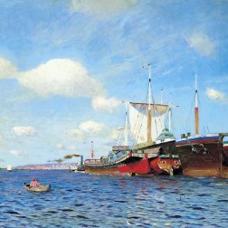 Fresh Wind. Volga 1895