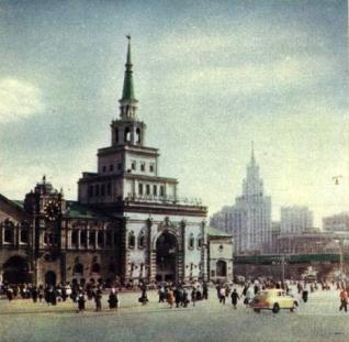 Kazansky Rail Station by Shchusev