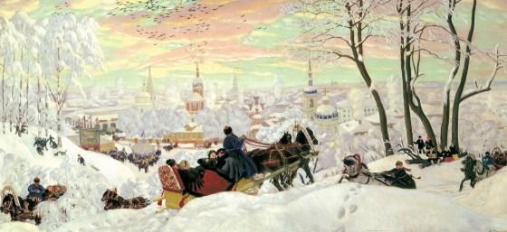 Maslenitsa Kustodiev 1916
