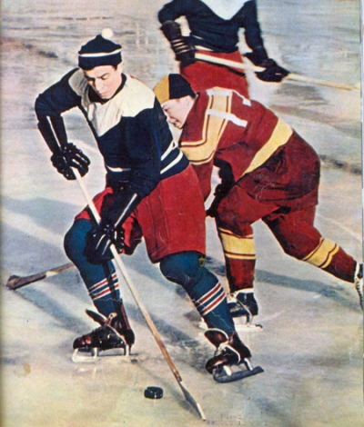 Moscow hockey vintage