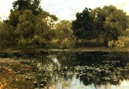 Overgrown Pond 1887
