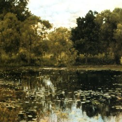 Overgrown Pond 1887