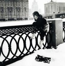 Russian kid snow