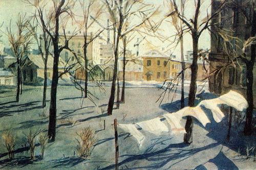 Springtime by Deyneka (1950)